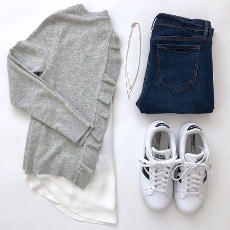 The sweetest sweater. 💕 I took size XSP since my usual size XXS regular was too long. 🛍 @liketoknow.it http://liketk.it/2ufN8 #liketkit #LTKsalealert #LTKshoecrush #LTKstyletip #LTKunder50 #LTKunder100