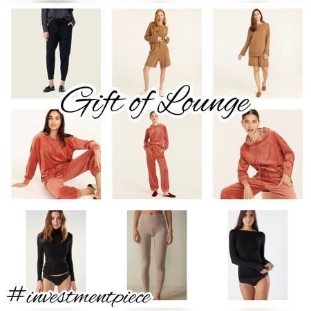 From cashmere to velour, these lounge sets are the perfect thing to give (and get!) #investmentpiece   #LTKGiftGuide #LTKunder100 #LTKstyletip