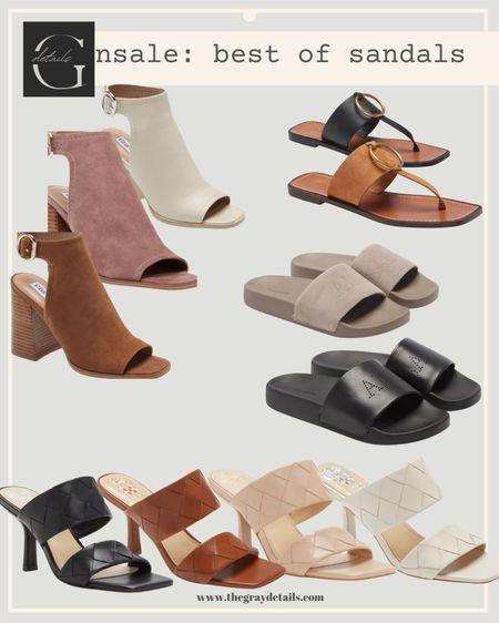 Best sandals from the Nordstrom anniversary sale / nsale - Nordstrom sale / Marc fisher / braided heels   #LTKworkwear #LTKshoecrush #LTKunder100