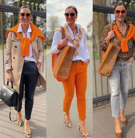Werbung 🧡🐆Outfitinspirationen Orange & Leo🧡🐆  Euch einen schönen Samstag 🧡🐆  #LTKeurope #LTKSeasonal #LTKstyletip