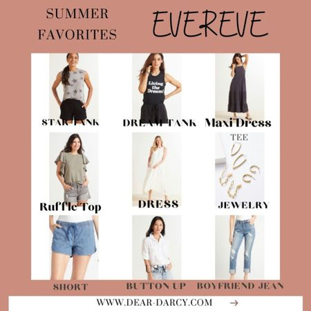 Some of my Favorite Summer pieces from Evereve🌸 . . Great brands, good quality and so easy to style and wear all Summer long! 🌸 🌸 All the pieces a TTS  . .  Shop my daily looks by following me on the LIKEtoKNOW.it shopping app Download the LIKEtoKNOW.it shopping app to shop this pic via screenshot http://liketk.it/3jxWJ #liketkit @liketoknow.it #LTKstyletip #LTKunder100