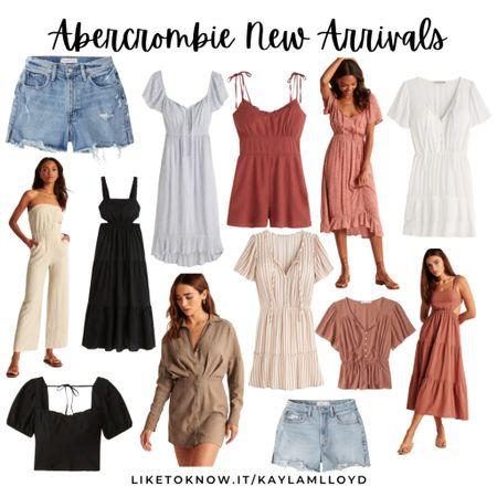 New Arrivals from Abercrombie // summer fashion// summer style http://liketk.it/3fEbq @liketoknow.it #liketkit #LTKsalealert #LTKstyletip #LTKtravel