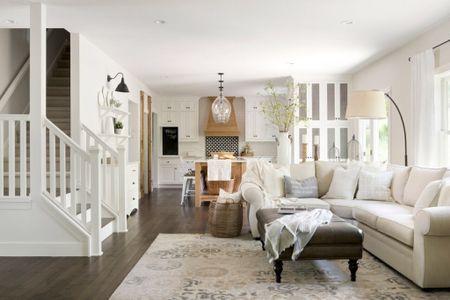 Modern French Country Living Room Decor http://liketk.it/2I43S #liketkit @liketoknow.it