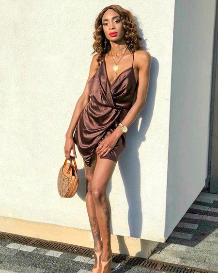 Little Brown Dress http://liketk.it/2x0lq #liketkit @liketoknow.it