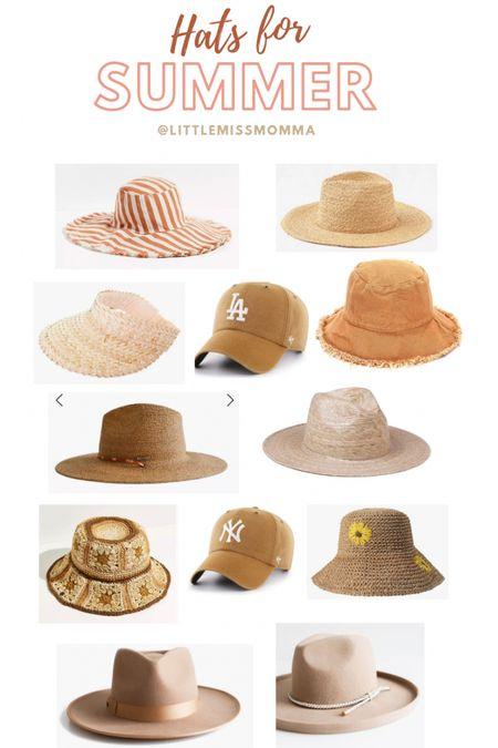 My favorite summer hats! http://liketk.it/3fGzi #liketkit @liketoknow.it #LTKstyletip #LTKbeauty @liketoknow.it.family @liketoknow.it.home