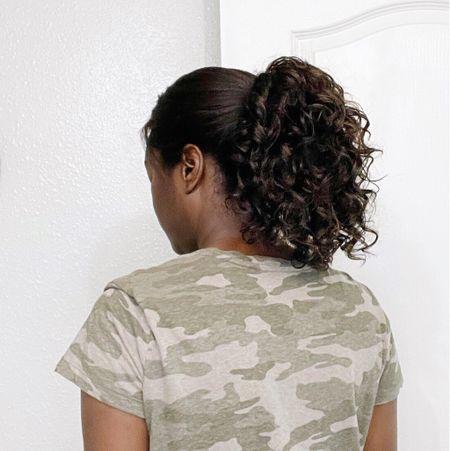 Got to love a good short-term protective style. I sometimes wear drawstring ponytails to help protect my relaxed hair.  http://liketk.it/3dajU #liketkit @liketoknow.it   #LTKbeauty