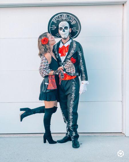 Couples Halloween costume idea   #LTKfamily #LTKSeasonal #LTKunder50