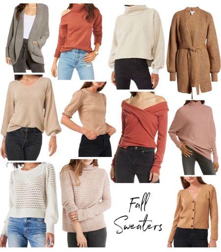 Fall sweater, Nordstrom sweater, Fall Outfit Idea  #LTKunder100 #LTKSeasonal #LTKstyletip