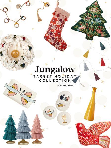 Target x Jungalow Holiday Collection including Hanukkah items!  #LTKHoliday #LTKSeasonal #LTKhome