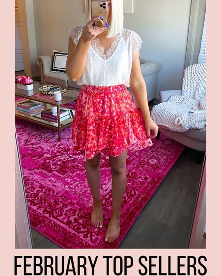 White lace top!! http://liketk.it/2L9d4 @liketoknow.it #liketkit #LTKunder50