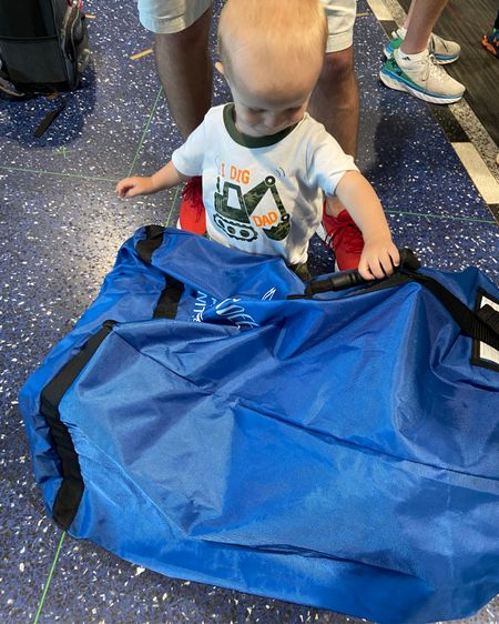 Great travel bag for our car seat. Kept it protected and was easy to carry to the gate. Has a handle and also has backpack straps. http://liketk.it/3i1QD #liketkit @liketoknow.it #travel #baby #traveling #mom #travelingwithkids #carseat #momtravel #amazon