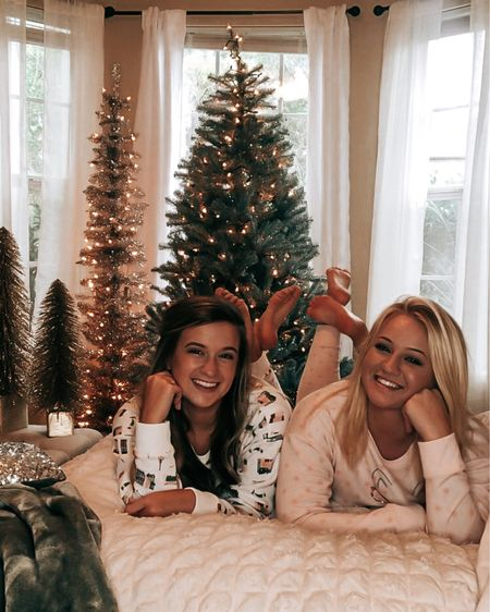 Staying cozy in our Holiday Pajamas 🎄  Download the LIKEtoKNOW.it shopping app to shop this pic via screenshot  http://liketk.it/30TjC #liketkit @liketoknow.it #LTKunder50 #LTKsalealert