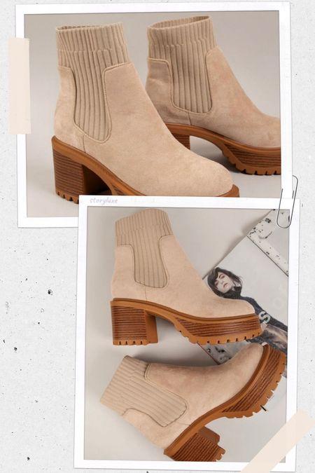 SHEIN platform booties!! Cute for fall!   #LTKshoecrush #LTKstyletip #LTKunder50
