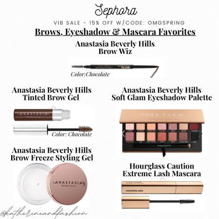 Sephora sale - brow, eyeshadow & mascara favorites!    #LTKsalealert #LTKbeauty