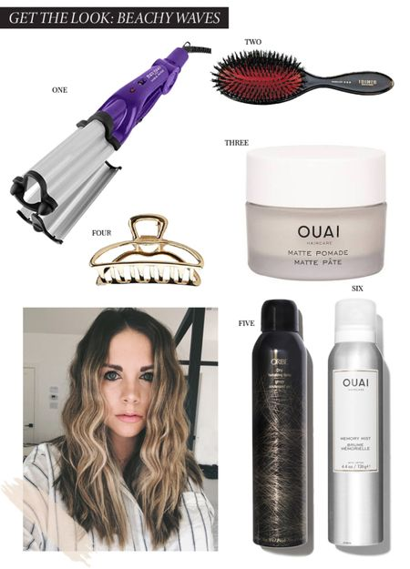 Everything you need for beach waves #hair   #LTKbeauty