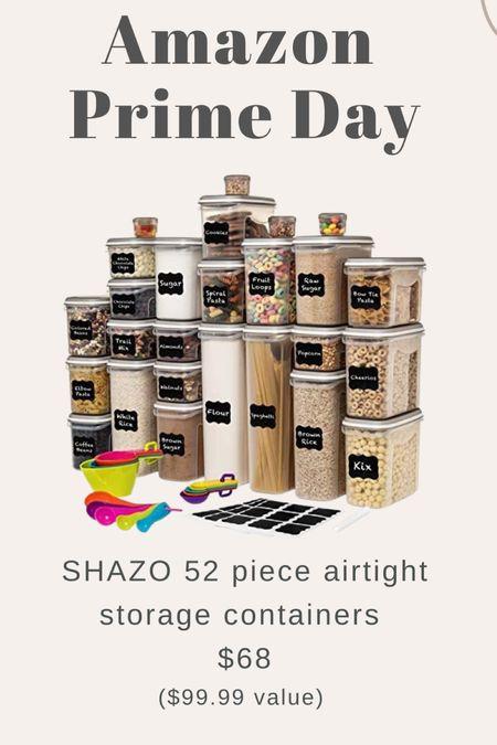 Amazon prime day - storage containers : home organization    #LTKSeasonal #LTKhome #LTKsalealert