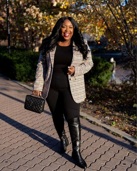 This fall outfit has been on constant rotation in my closet ✨  #LTKshoecrush #LTKstyletip #LTKcurves