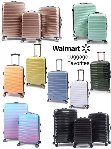 ifly hard case luggage sets (ans individual sizes) available in so many colors @walmart .Love the quality ans ease of rolling. Great for family travel/ vacation.  #ad http://liketk.it/3fpcd #liketkit @liketoknow.it #LTKtravel #LTKitbag #LTKfamily @liketoknow.it.family Download the LIKEtoKNOW.it shopping app to shop this pic via screenshot  Summer vacation  Family travel  Walmart finds