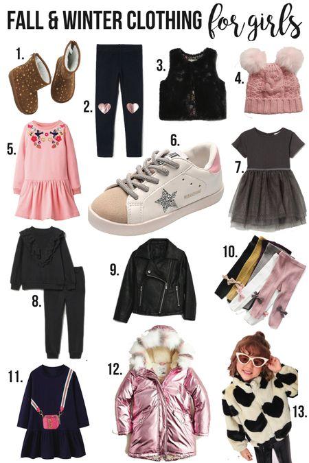 Fall & Winter Clothing for GIRLS❤️//  #LTKSale #LTKkids #LTKstyletip