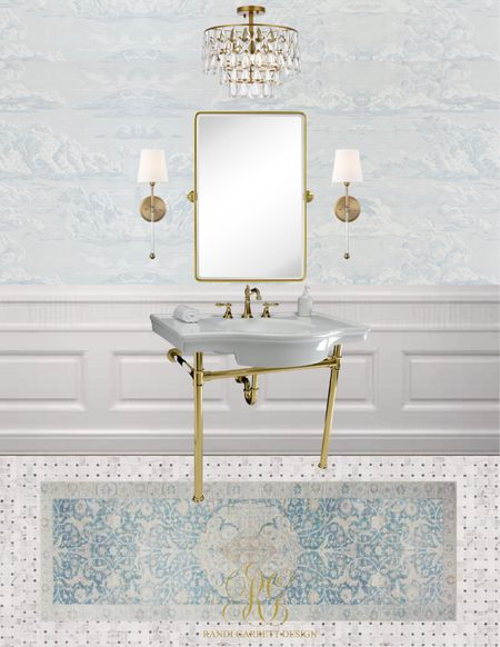 Awesome pieces to design your bathroom!  #LTKhome #LTKstyletip