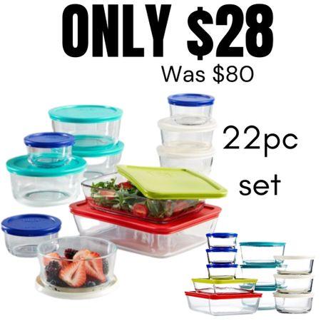 Great Deal on food storage sets  http://liketk.it/3gLvR #liketkit @liketoknow.it #LTKhome #LTKsalealert #LTKunder50