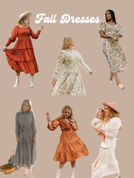 Fall Dresses  #LTKstyletip #LTKfamily #LTKSeasonal