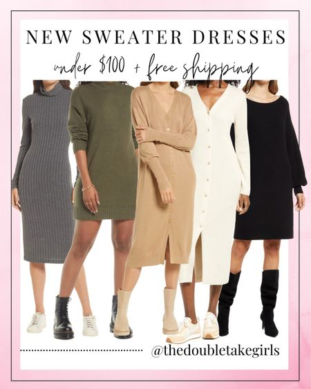 #ad We found some new under $100 sweater dresses that are exclusively at @nordstrom! Several of them come in additional colors too! FREE shipping as well! Shop them all HERE // #nordstrom   #LTKstyletip #LTKunder100 #LTKHoliday