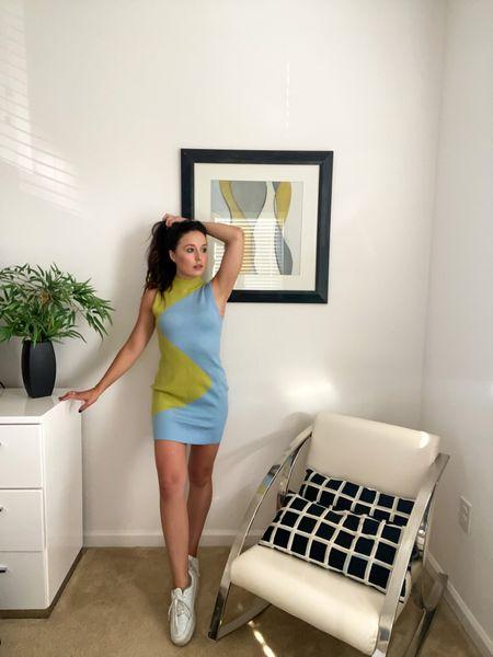 Y2K sweater dress wearing size small   #LTKstyletip #LTKSeasonal #LTKtravel