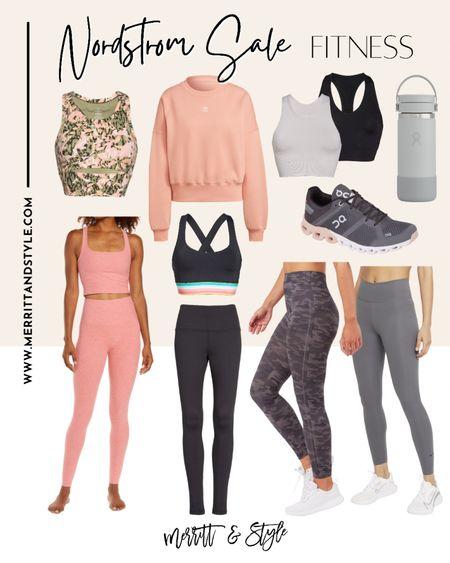 Nordstrom sale fitness favorites leggings on sale workout gear   #LTKstyletip #LTKunder50 #LTKfit