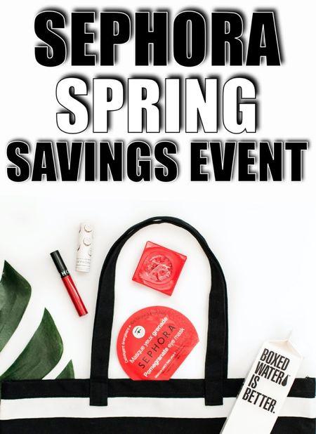 A few favorites and bestsellers from the Sephora Spring Savings Event!   #LTKsalealert #LTKbeauty #LTKunder100