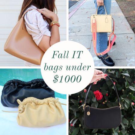 Fall IT bags under $1000 ❤️🍁  #LTKitbag #LTKSeasonal #LTKGiftGuide