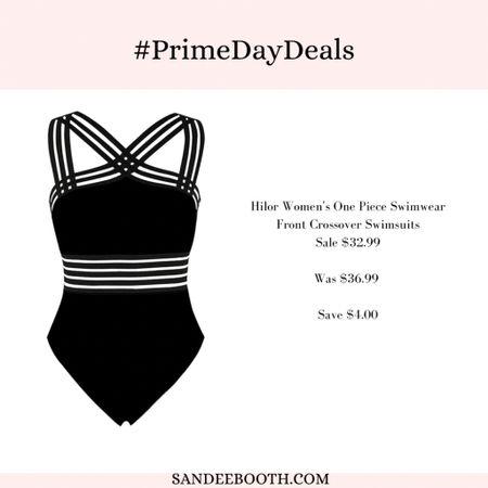 Gorgeous women's bathing suit on sale during Amazon prime deals!   #LTKSeasonal #LTKsalealert #LTKunder50
