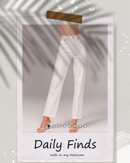Favorite white pants- http://liketk.it/3hzaB @liketoknow.it #liketkit #LTKunder50 #LTKunder100 #LTKstyletip
