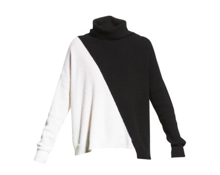 Something a little different - just ordered this black and white Alice and Olivia sweater.    #LTKSeasonal #LTKstyletip