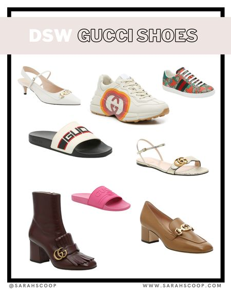 Some Gucci finds from DSW! These luxury shoes are selling quick.    #designershoes #gucci #dsw  #LTKsalealert #LTKshoecrush #LTKstyletip