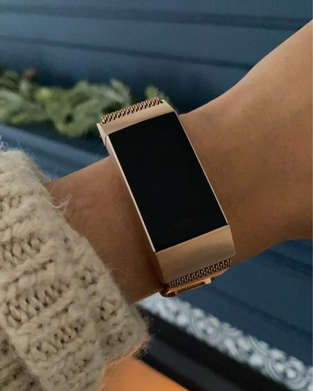 Sharing my latest obsession! This rose gold mesh band for my Fitbit charge 3! It's only $13 and comes in so many colours!   http://liketk.it/2ZY6O #liketkit @liketoknow.it