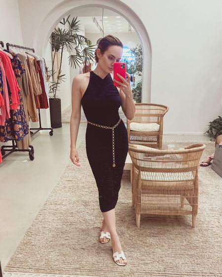 Can't get this A.L.C. little black dress out of my mind. You guys are voted almost 50/50🤷🏻♀️ #stylesprinter     #LTKstyletip