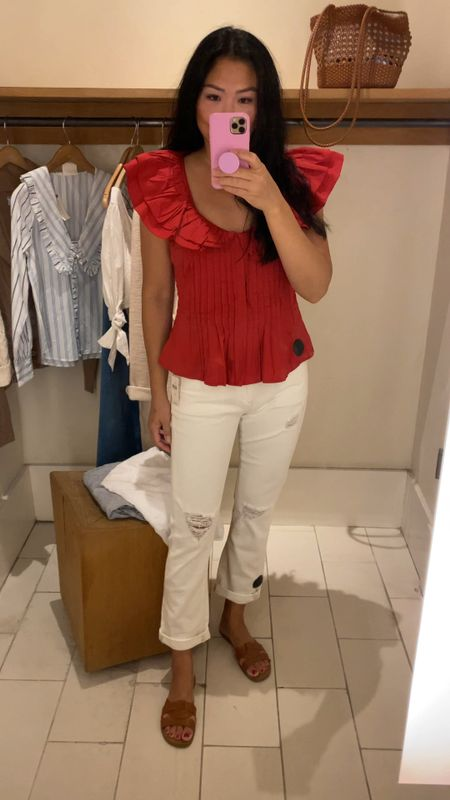 This red top will be perfect for the next girls night out!   #LTKstyletip