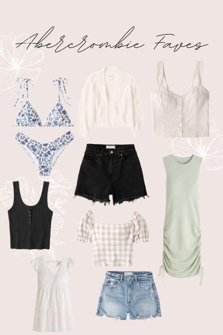 Abercrombie shorts dresses tops   #LTKSeasonal #LTKSpringSale #LTKsalealert