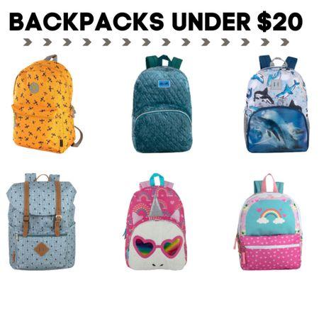 Kids back to school backpacks under $20  Check each item for promo codes to lower the price under $20  #LTKkids #LTKsalealert   #liketkit @liketoknow.it http://liketk.it/3jira #LTKunder50