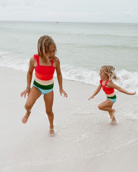 Little girl matching swim http://liketk.it/3gULi #liketkit @liketoknow.it #LTKswim #LTKtravel #LTKkids