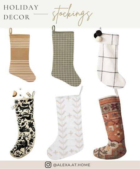 Holiday decor - stockings     Holiday stockings, Christmas stockings , farmhouse stockings , knitted stockings   #LTKSeasonal #LTKHoliday #LTKhome