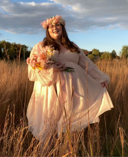 This ethereal princess dress made me feel ALL THE FEELS this past weekend and I just saw that it's on sale for $78! Originally $168!  Get it for less than what I paid. Lucky ducks!  #LTKcurves #LTKstyletip #LTKsalealert