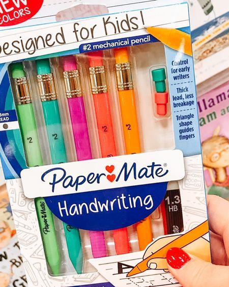 My favorite pencils to help practice handwriting and pencil grip.   http://liketk.it/35L5x #liketkit @liketoknow.it #LTKkids #LTKunder50