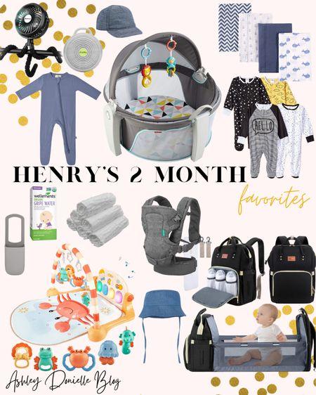 Henry's 2 month favorites! http://liketk.it/3hFtq #liketkit @liketoknow.it #LTKbaby #LTKkids #LTKfamily #babyessentials
