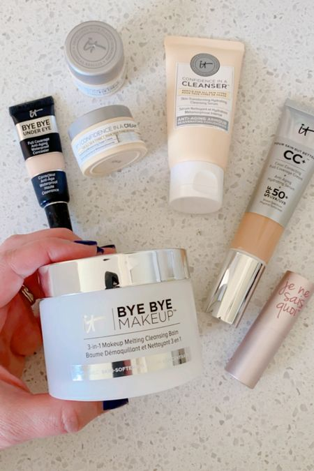 It Cosmetics makes a really great makeup remover.  I love their Confidence range, their CC cream and their lip balm! 25% off entire site.  Bye Bye Undereye concealer not included in sale.  #LTKbeauty #LTKSale
