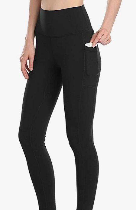 The best pocket leggings are on sale!   #LTKfit #LTKsalealert #LTKunder50