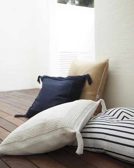 These floor pillows are comfortable and super stylish! They come in 4 colours/ patterns and are on sale right now with code DIVEIN - save 20%!!! http://liketk.it/3gfs7 #liketkit @liketoknow.it #LTKDay #LTKsalealert #LTKhome @liketoknow.it.home