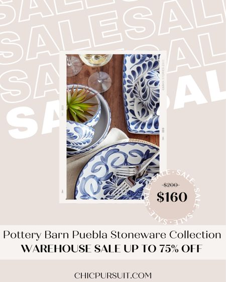 This Puebla Stoneware Collection from Pottery Barn is the cutest! And Pottery Barn currently has a huge 4th of July sale — up to 75% off! ✨😍  @liketoknow.it #liketkit #LTKsalealert #LTKhome http://liketk.it/3j2Hs #LTKstyletip