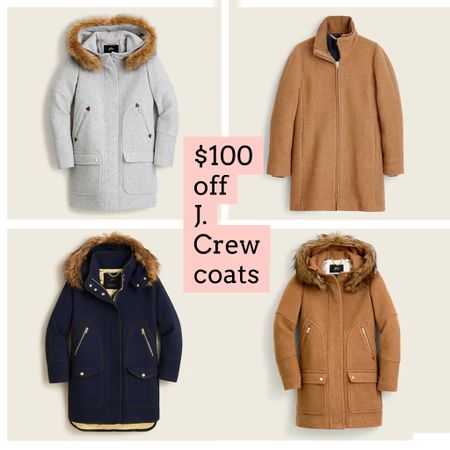 J. Crew coats on sale. Gift guide   Follow my shop @ashleyjennany on the @shop.LTK app to shop this post and get my exclusive app-only content!  #liketkit #LTKsalealert #LTKSeasonal #LTKGiftGuide @shop.ltk http://liketk.it/3qxS4